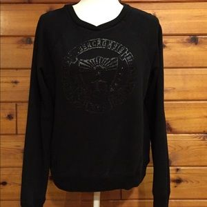 Abercrombie and Fitch stamped sweatshirt.